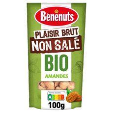 BENENUTS Plaisir brut Amandes bio 100g