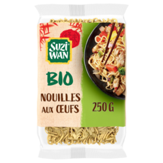 SUZI WAN Nouilles aux oeufs bio 250g