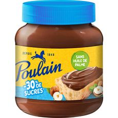 POULAIN Pâte a tartiner -30% de sucres 350g