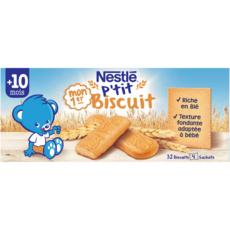 NESTLE Mon 1er p'tit biscuit dès 10 mois 180g