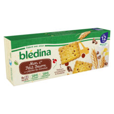 Blédina BLEDINA Mon 1er petit beurre pépites de chocolat dès 12 mois