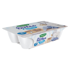 BLEDINA Les mini lactés pot dessert nature sans sucre dès 6 mois 6x55g