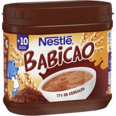 Nestlé NESTLE Babicao céréales au cacao en poudre dès 10 mois