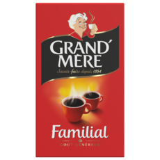 GRAND'MERE Café moulu familial goût généreux 250g