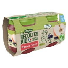 Blédina BLEDINA Petit pot dessert pommes et cassis bio dès 6 mois