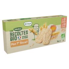 BLEDINA Les Récoltes Bio Mon 1er biscuit bio dès 8 mois 150g