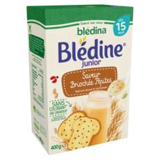 BLEDINA Blédine céréales saveur brioche et pépites de chocolat en poudre dès 15 mois 400g
