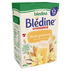 BLEDINA Blédine céréales à la vanille en poudre dès 12 mois 400g