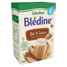 BLEDINA Blédine céréales au cacao en poudre dès 6 mois 400g