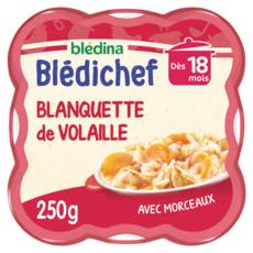 BLEDINA Blédichef assiette blanquette de volaille dès 18 mois 250g