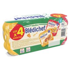 BLEDINA Blédichef assiettes légumes viandes dès 15 mois 2x250g