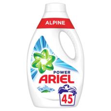 ARIEL Lessive liquide power alpine  45 lavages 2,475l