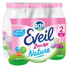 EVEIL Lait 2ème âge dès 6 mois 6x1l