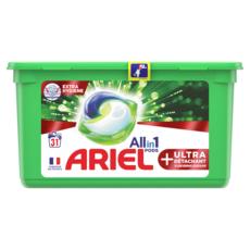 Ariel ARIEL Capsules de lessive + ultra détachant