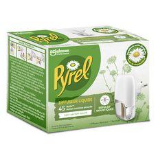 PYREL Diffuseur électrique liquide anti-moustiques Efficace 45 nuits 1 diffuseur