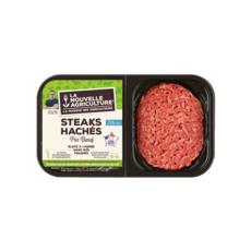 LA NOUVELLE AGRICULTURE Steaks Hachés pur bœuf   2x125g