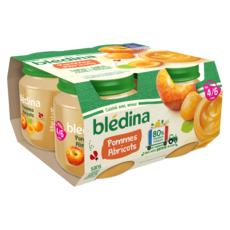 Blédina BLEDINA Petit pot dessert pommes abricots dès 4/6 mois