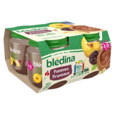 Blédina BLEDINA Petit pot dessert pommes pruneaux dès 4/6 mois