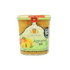 LES COMTES DE PROVENCE Confiture d'agrumes bio 350g