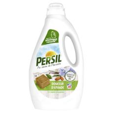 PERSIL Lessive liquide au savon de Marseille douceur d'amande extrait de vanille bio 49 lavages 2,45l