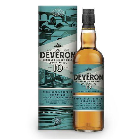 GLEN DEVERON Scotch whisky single malt 10 ans 40%
