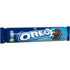 OREO Biscuits cacaotés fourrés vanille en rouleau 154g