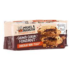 MICHEL ET AUGUSTIN Cookies chocolat noir noix de pécan caramel 6 Biscuits 180g