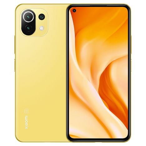XIAOMI Smartphone Mi 11 Lite  128 Go  6.55 pouces  Jaune  5G