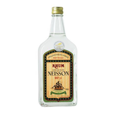 NEISSON Rhum blanc agricole Martinique 55%