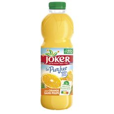 JOKER Pur jus d'orange sans pulpe 1l
