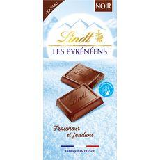 Lindt LINDT Les Pyrénéens Tablette de chocolat noir