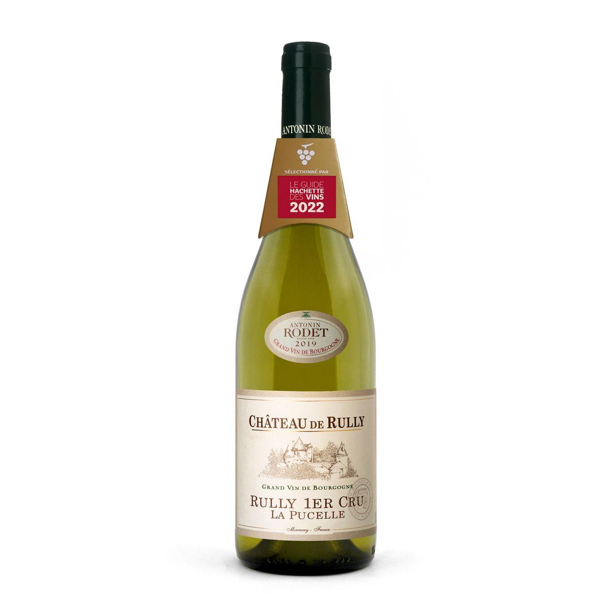 AOP Rully 1er Cru La Pucelle Château de Rully Antoine Rodet 2019 blanc
