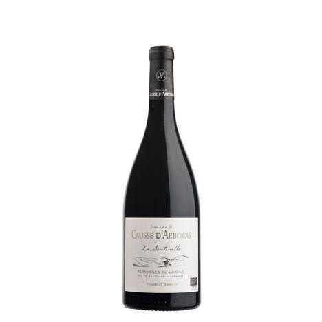 SANS MARQUE AOP Languedoc Bio Domaine du Causse d'Arboras La Sentinelle Terrases du Larzac rouge 2017