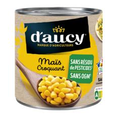 D'AUCY Maïs croquant sans résidu de pesticides sans OGM 285g