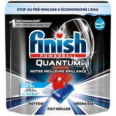 FINISH Quantum tablettes lave-vaisselle 3en1 35 lavages 35 tablettes