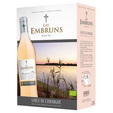 LES EMBRUNS IGP sable de Camargue gris rosé  2.25l