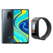 XIAOMI Smartphone Redmi Note 9S  64 Go  6.67 pouces  Gris  4G  Double Sim + Mi Smart Band 4c noir
