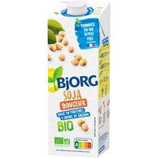 BJORG Boisson soja douceur et calcium bio 1l