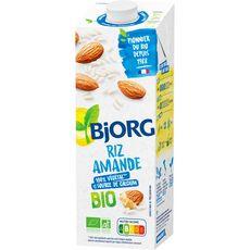 BJORG Boisson riz amande calcium bio 1l