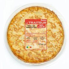 AUCHAN LE TRAITEUR Tortilla aux pommes de terre 4 portions 500g