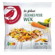 AUCHAN Légumes pour wok 5 portions 750g