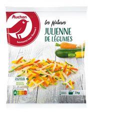 AUCHAN Julienne de légumes 5 portions 1kg