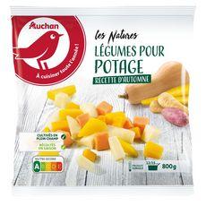 AUCHAN Légumes pour potage 5 portions 800g