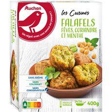 AUCHAN Falafels veggie 4 portions 400g