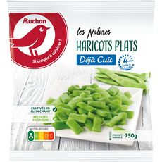 AUCHAN Haricots plats minute 5 portions 750g