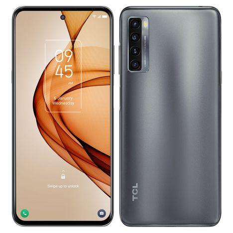 TCL Smartphone 20 Pro  256 Go  6.67 pouces  Gris  5G  Double Nano Sim