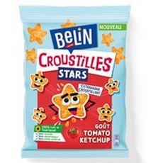 BELIN Croustilles stars biscuits salés goût tomate ketchup 90g