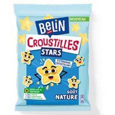 BELIN Croustilles stars biscuits salés goût nature 90g