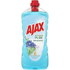 AJAX Maison Pure Nettoyant antibactérien parfum fleur de sureau 1,25l