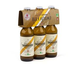 BRASSEURS SAVOYARDS Bière blonde bio 5% 3x33cl